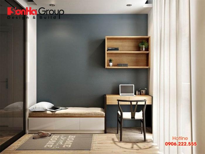 Tận dụng ánh sáng tự nhiên để mang đến sự thông thoáng, rộng rãi cho căn phòng ngủ 6m2