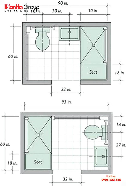 Thêm một bản vẽ chi tiết nhà vệ sinh đẹp, phong thủy mà bạn nên tham khảo