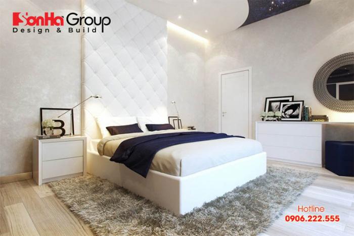 Thêm một mẫu phòng ngủ đơn giản bố trí khoa học dành cho nhà chung cư hiện đại