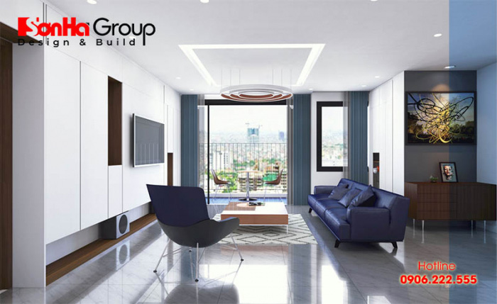 Thiết kế nội thất chung cư đơn giản, hiện đại nhưng vẫn đảm bảo yếu tố sang trọng
