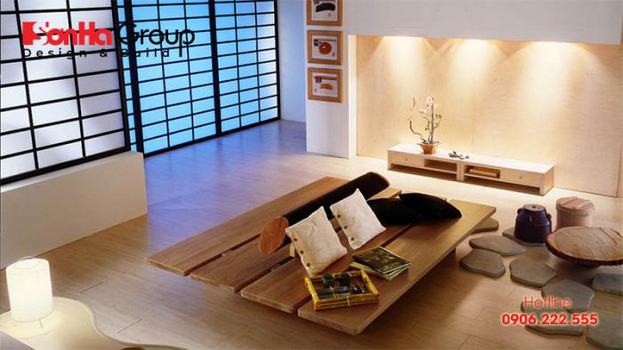 Thiết kế nội thất phong cách Nhật Bản giản tiện nhưng rất sang trọng