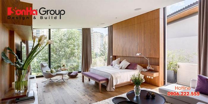 Thiết kế phòng ngủ hòa cùng thiên nhiên luôn là xu hướng thịnh hành trên thế giới