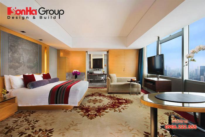 Tiêu chuẩn thiết kế phòng ngủ khách sạn 5 sao cập nhật mới nhất