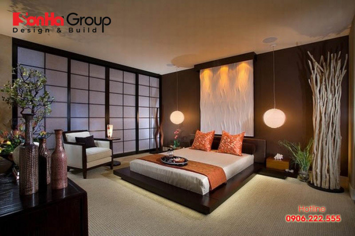 Trang trí phòng ngủ kiểu Nhật đẹp tinh tế mang đến không gian riêng tư độc đáo cho bạn