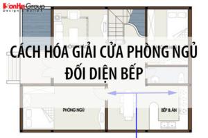 Tư vấn phong thủy: Cách hóa giải cửa phòng ngủ đối diện bếp 1