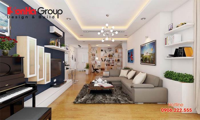 Vách ngăn trang trí là gợi ý không thể bỏ qua khi trang trí nội thất chung cư