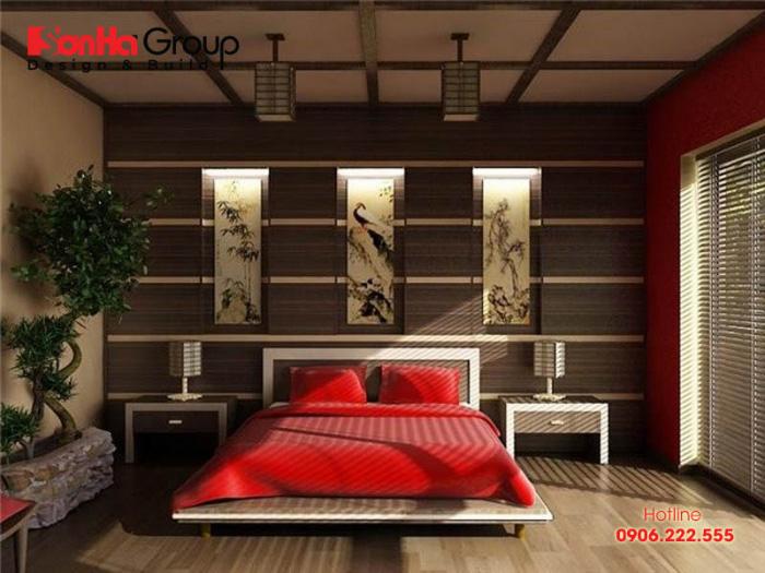 Ý tưởng thiết kế nội thất phòng ngủ mang đặc trưng phong cách Nhật Bản sang trọng và ấm cúng