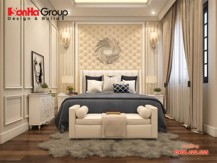 Hơn 50+ Mẫu phòng ngủ đẹp nhất dành riêng cho biệt thự tân cổ điển 5