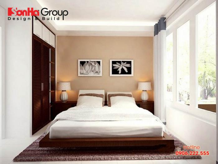 Ý tưởng thiết kế phòng ngủ 15m2 đẹp, đơn giản và tiện nghi với phong cách hiện đại