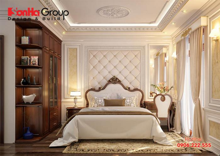 Hơn 50+ Mẫu phòng ngủ đẹp nhất dành riêng cho biệt thự tân cổ điển 6
