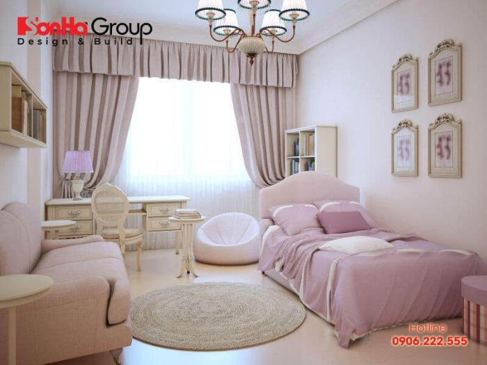 Ý tưởng trang trí phòng ngủ phong cách Hàn Quốc với màu sắc nhẹ nhàng, thể hiện cá tính của chủ nhân căn phòng