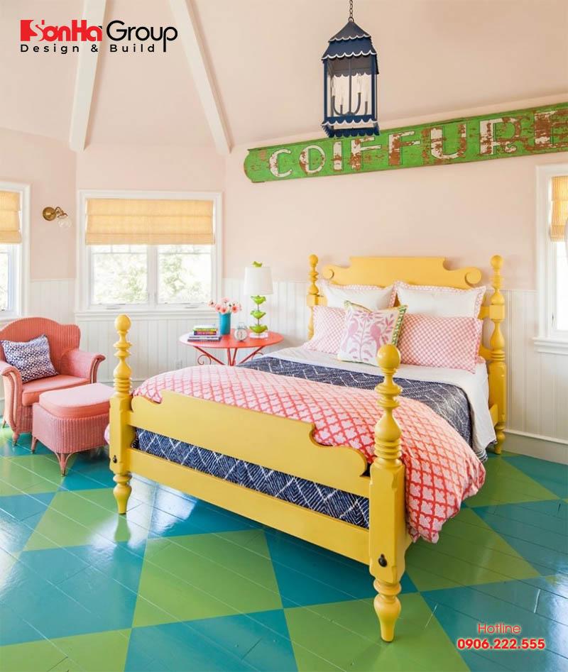 Ý tưởng trang trí phòng ngủ theo phong cách retro nổi bật xu hướng 2020