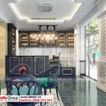 1 Thiết kế nội thất quầy cafe cao cấp tại quảng ninh