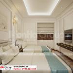 10 Bố trí nội thất phòng ngủ tầng tum khách sạn tại quảng ninh