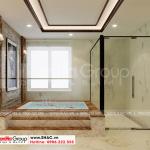 10 Bố trí nội thất phòng tắm nhà phố liền kề tại khu đô thị waterfront hải phòng wfc 008