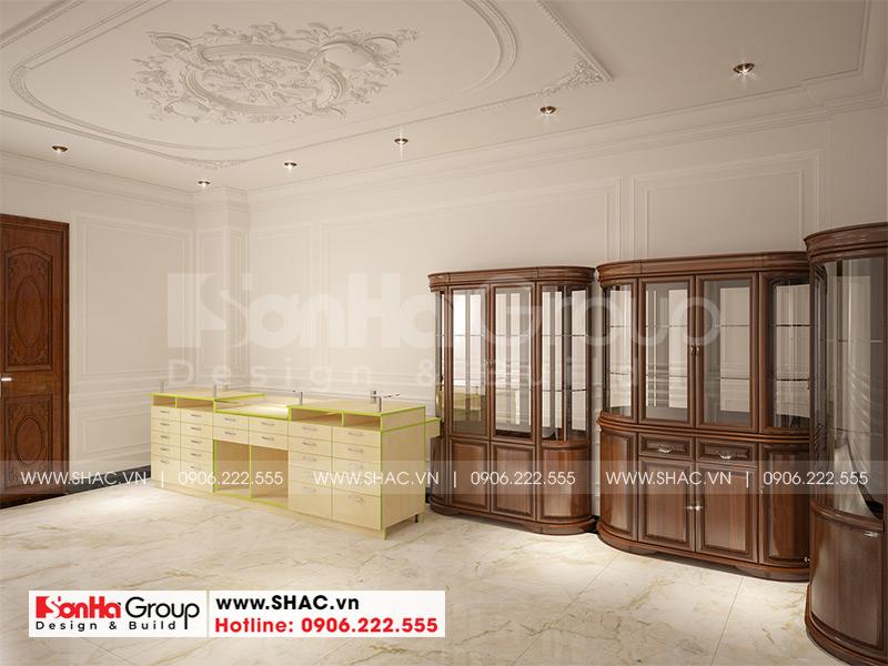 Biệt thự tân cổ điển 3 tầng 12m x 20m kết hợp kinh doanh tại An Giang – SH BTP 0150 15