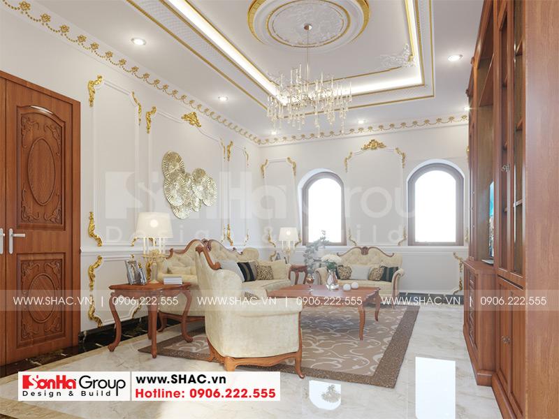 Biệt thự tân cổ điển 3 tầng 12m x 20m kết hợp kinh doanh tại An Giang – SH BTP 0150 17