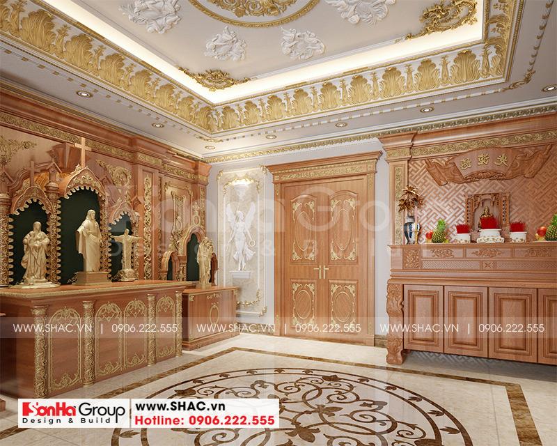 Biệt thự tân cổ điển 3 tầng 12m x 20m kết hợp kinh doanh tại An Giang – SH BTP 0150 18