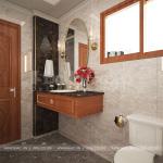 19 Bố trí nội thất phòng tắm wc kiểu tân cổ điển tại an giang sh btp 0150