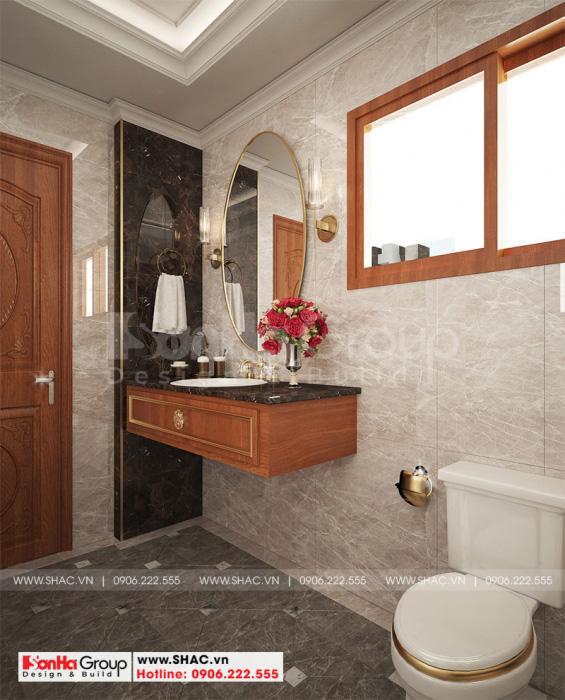 WC nhỏ hẹp tiện nghi