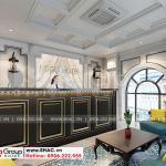2 Mẫu nội thất sảnh lễ tân khách sạn đẹp tại quảng ninh