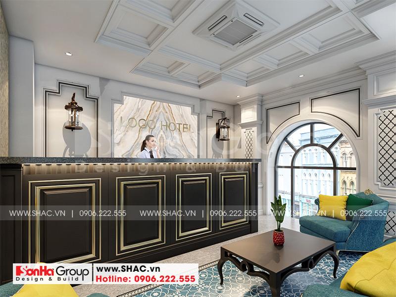 Thiết kế nội thất khách sạn mini 5 tầng tiêu chuẩn 2 sao tại Quảng Ninh 2