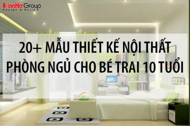 20+ Mẫu thiết kế nội thất phòng ngủ cho bé trai 10 tuổi cha mẹ nên bỏ túi ngay 14