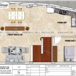 4 Bản vẽ tầng 2 biệt thự lâu đài mini xa hoa tại hưng yên sh btld 0042