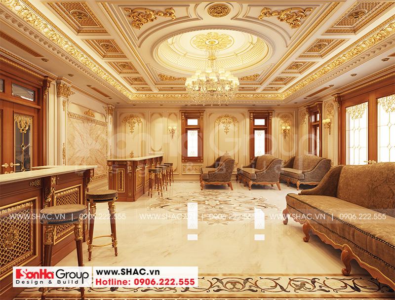 Biệt thự tân cổ điển 3 tầng 12m x 20m kết hợp kinh doanh tại An Giang – SH BTP 0150 4