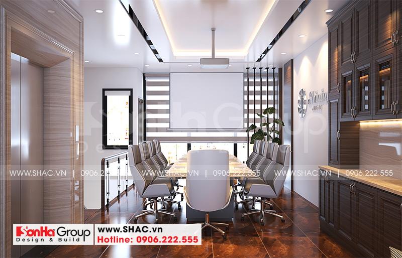 Mẫu nội thất nhà phố liền kề hiện đại kết hợp văn phòng làm việc 6m x 15,26m tại Waterfront City Hải Phòng 3