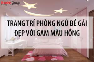 5 Cách trang trí phòng ngủ cho bé gái đẹp dịu dàng với gam màu hồng 15