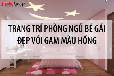 5 Cách trang trí phòng ngủ cho bé gái đẹp dịu dàng với gam màu hồng 6