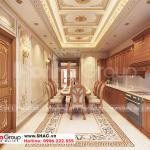 6 Thiết kế nội thất phòng bếp ăn cao cấp tại an giang sh btp 0150