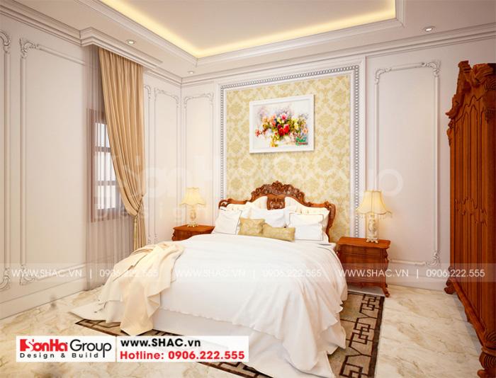 Với diện tích không quá lớn nhưng căn phòng ngủ này bố trí đơn giản, gọn gàng tạo nên cá tính của chủ nhân