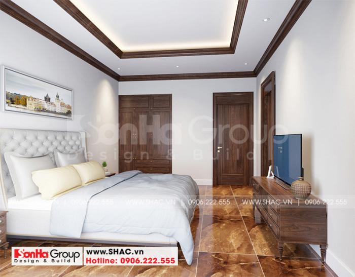 Trang trí phòng ngủ khách với nội thất tân cổ điển đơn giản mà sang trọng
