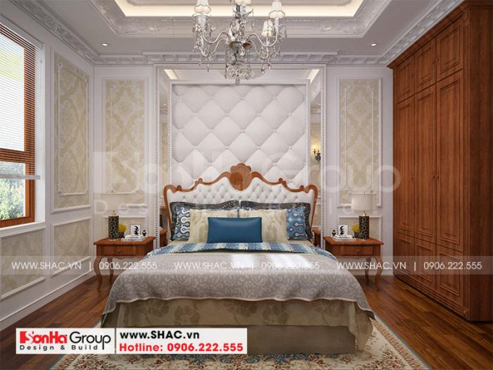 Phòng ngủ với không gian rộng rãi, tiện nghi đáp ứng sinh hoạt thường ngày được thoải mái, tự do nhất