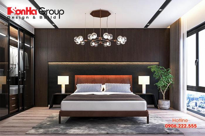 Ánh sáng trong thiết kế nội thất phòng ngủ người già cũng cần được quan tâm, vì người già thường không còn tinh tường, mọi thứ đều nhòe dần theo thời gian