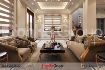 BÌA thiết kế cải tạo nội thất biệt thự tân cổ điển đẹp tại quảng ninh