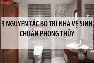 Bố trí nhà vệ sinh chuẩn phong thủy với 3 nguyên tắc nhất định phải biết 4