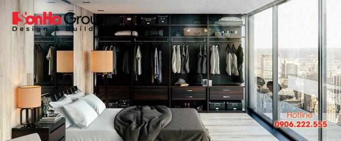 Bố trí phòng thay đồ trong phòng ngủ tiện nghi 10