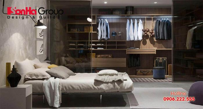 Bố trí phòng thay đồ trong phòng ngủ tiện nghi 4
