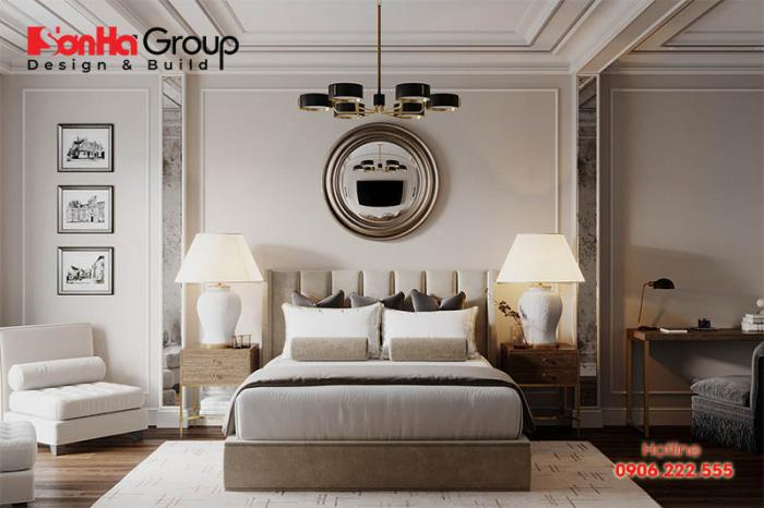 Cách bài trí nội thất phòng ngủ cổ điển, tinh tế theo hướng phong thủy tốt nhất