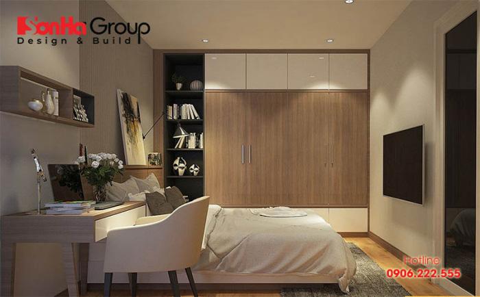 Cách trang trí phòng ngủ diện tích 10m2 cho vợ chồng trẻ thêm hạnh phúc