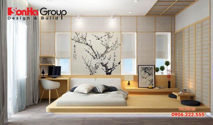 Cách trang trí phòng ngủ không có giường đẹp tuyệt diệu