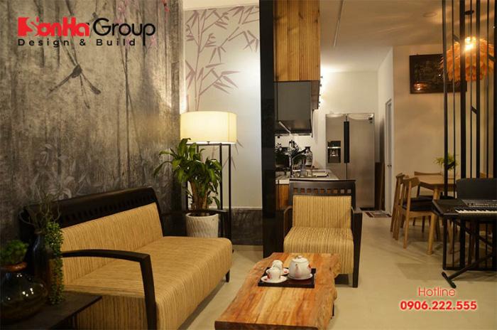 Cây xanh là yếu tố quan trọng trong thiết kế nội thất Zen Nhật Bản