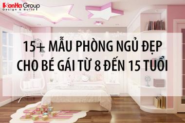 [Chia sẻ] 15+ mẫu phòng ngủ cho bé gái từ 8 đến 15 tuổi 10
