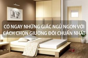 Có ngay những giấc ngủ ngon với cách chọn giường đôi chuẩn nhất 11