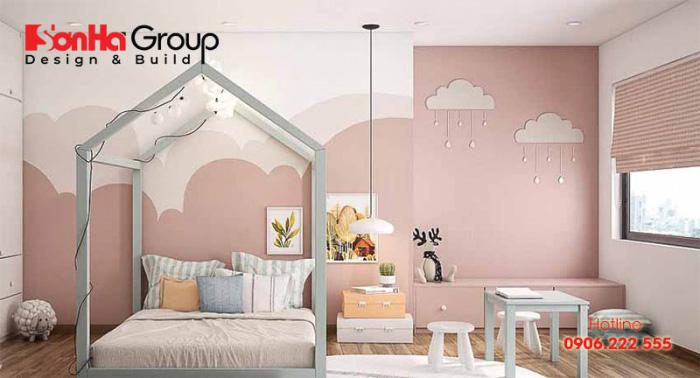 Đảm bảo sự an toàn luôn là yếu tố cần lưu ý hàng đầu khi thiết kế, bố trí phòng ngủ cho trẻ