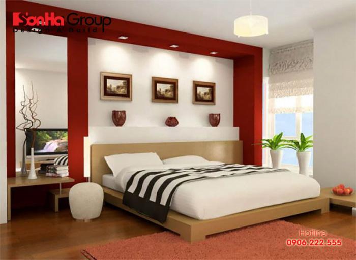 Đầu giường phải tựa vào tường để tạo cảm giác an tâm khi ngủ