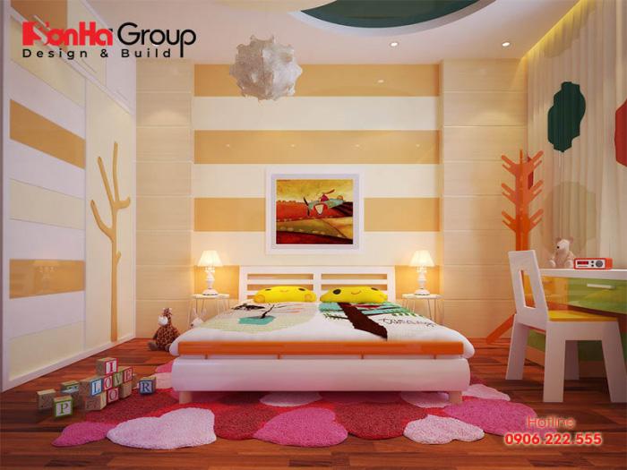 Khám phá phòng ngủ dành cho con gái của gia đình với thiết kế nội thất xinh xắn tiện nghi